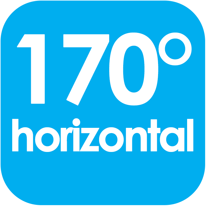 170 Viewing Angle Horizontal
