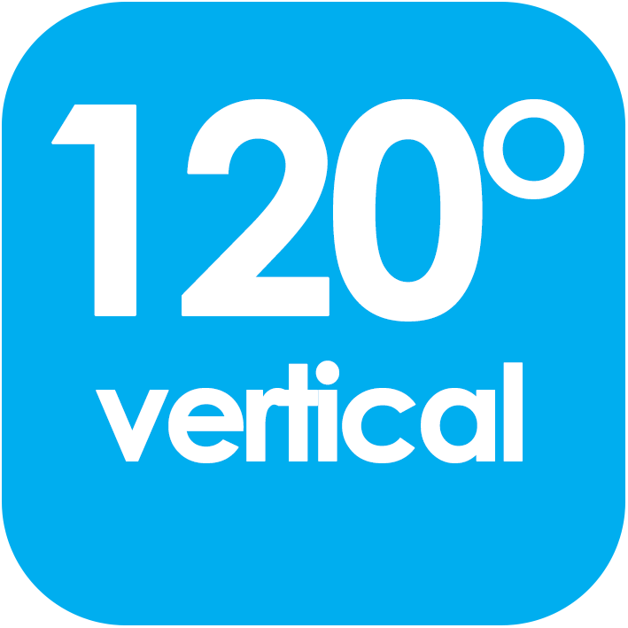 120 Viewing Angle Vertical