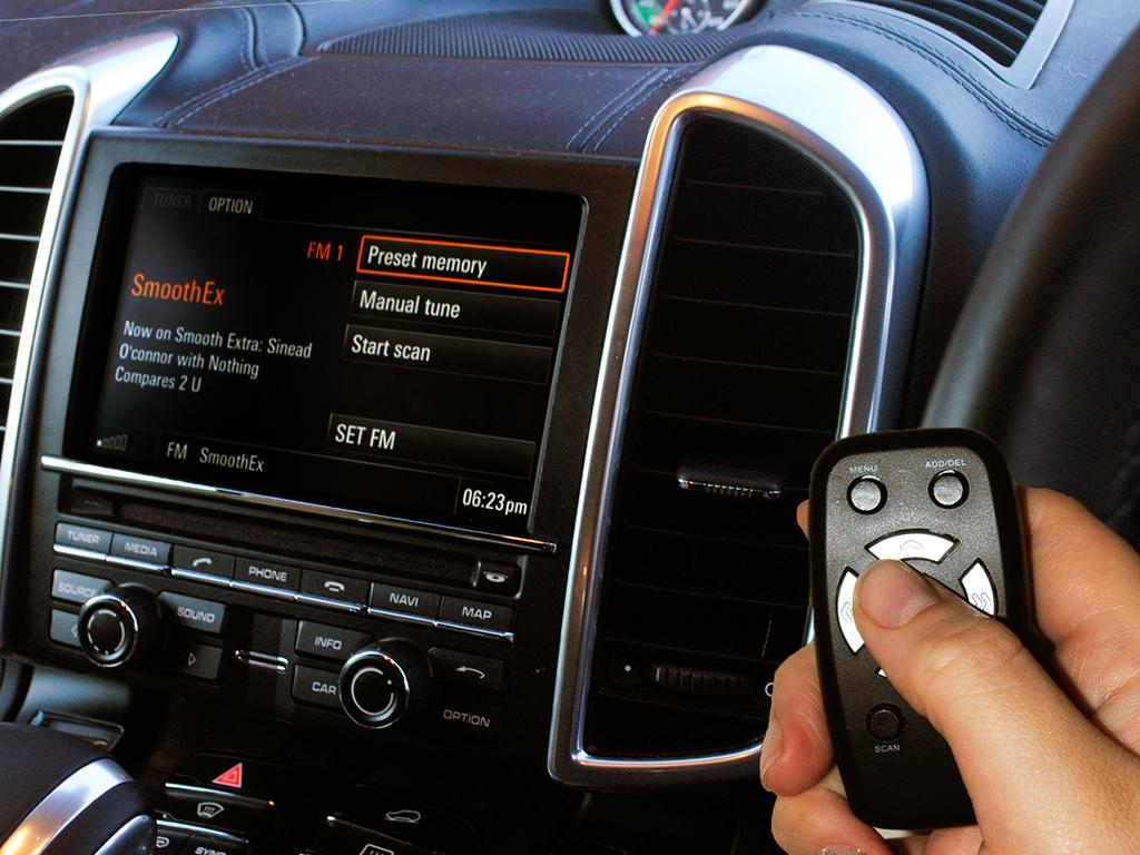 AUTODAB SMARTDAB FM Wireless Car Digital Radio DAB Tuner For Toyota