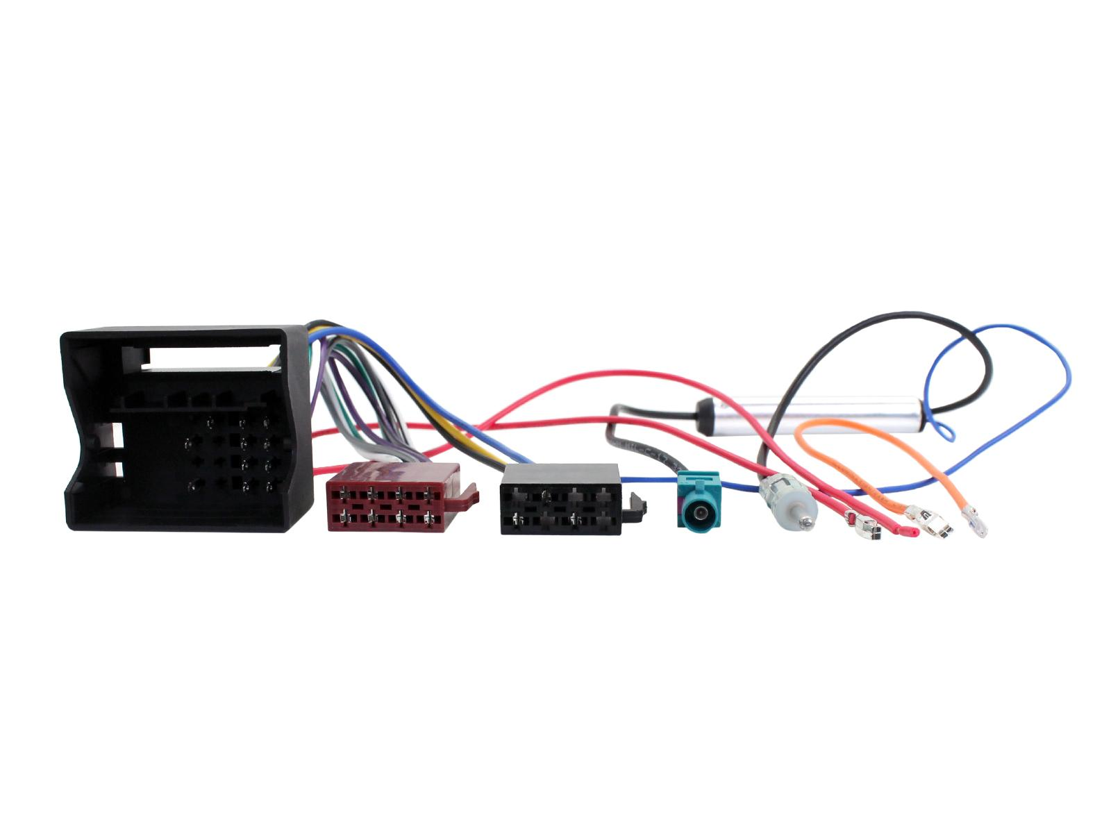 Connects2 Ltd Car Stereo Wiring Harness For 2004 Vw Beetle Vehicle Application Guide