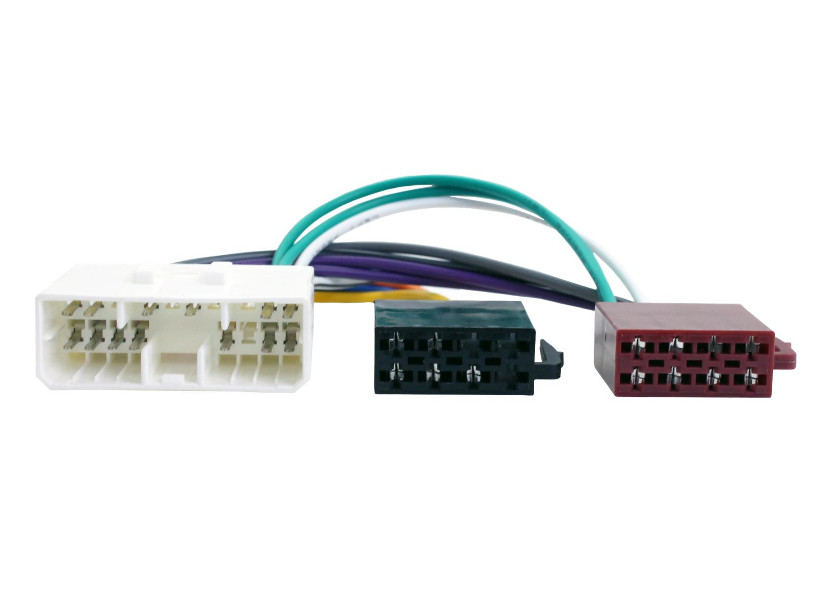 Connects2 Ltd Speaker Wire Harness Adapter Vehicle Application Guide