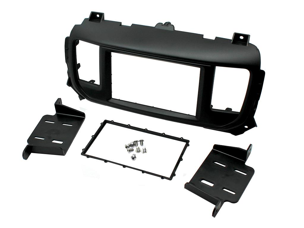 CT23CT03 CITROEN C1 2005 ONWARDS BLACK DOUBLE DIN FASCIA FACIA ADAPTOR PANEL