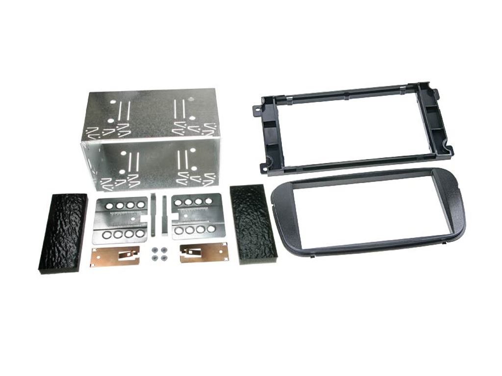 FORD FIESTA GALAXY CD RADIO STEREO DOUBLE DIN STEREO FACIA PANEL KIT CT23FD04