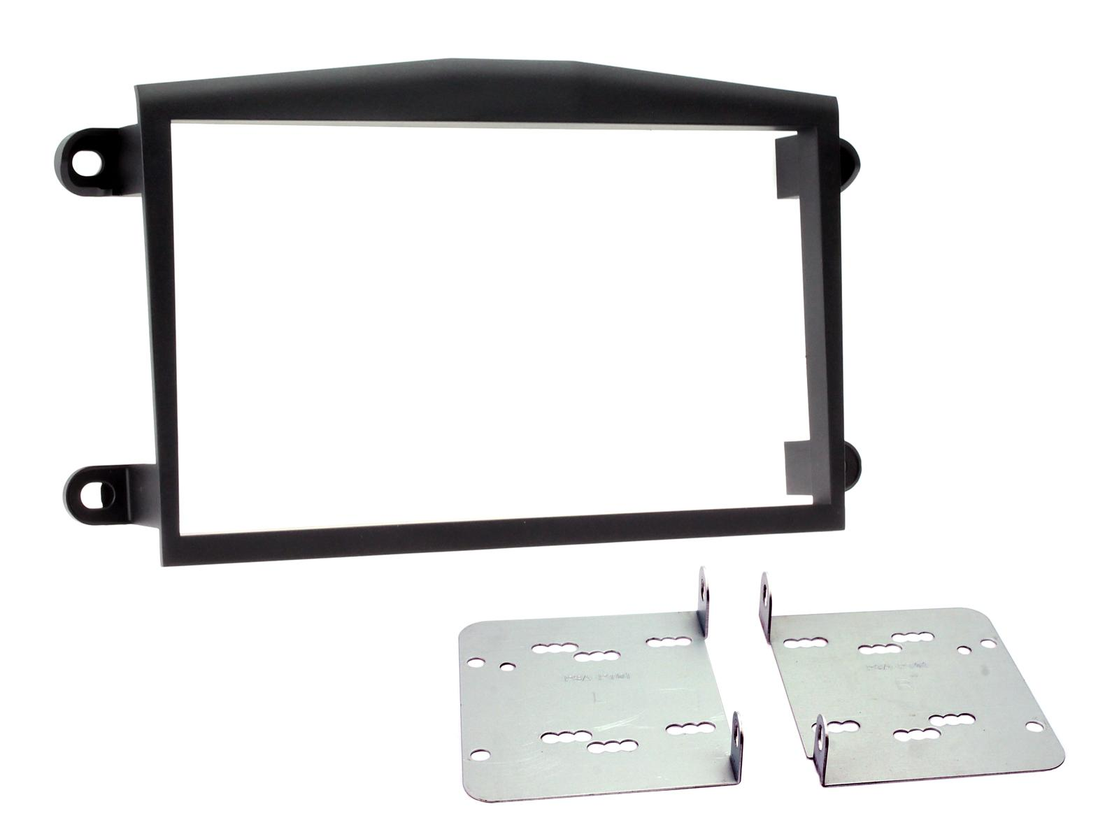 Rover 75 1999-2005 Double Din Fascia Black Connects2 CT23RO01 for