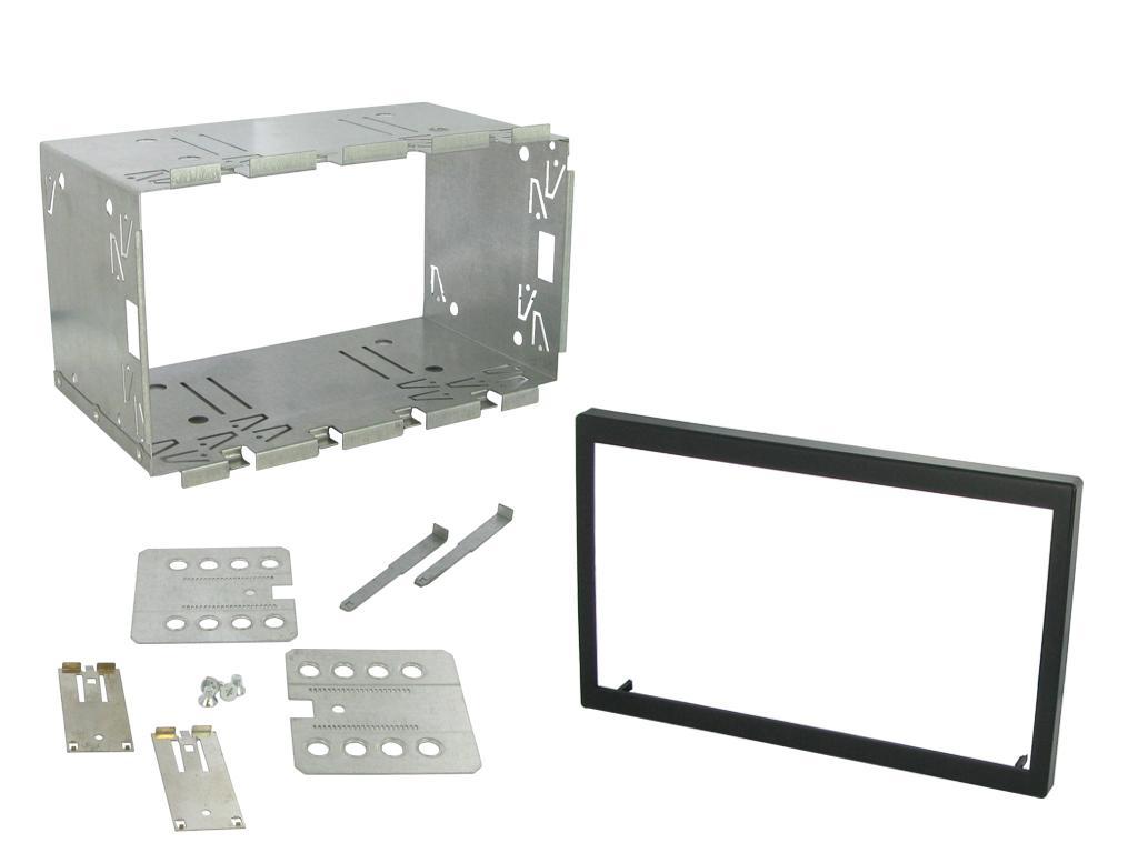 Connects 2 CT24AU30 Voiture Stéréo Simple Din Panneau Avant fascia panel Fit Audi A3-03-06