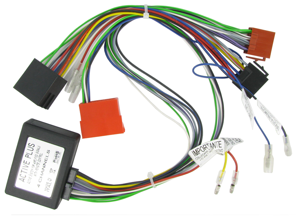 MK2 CT51-AU04 AUDI ACTIVE SYSTEM ADAPTER HARNESS FITS A3 //A4//A6//TT 8P