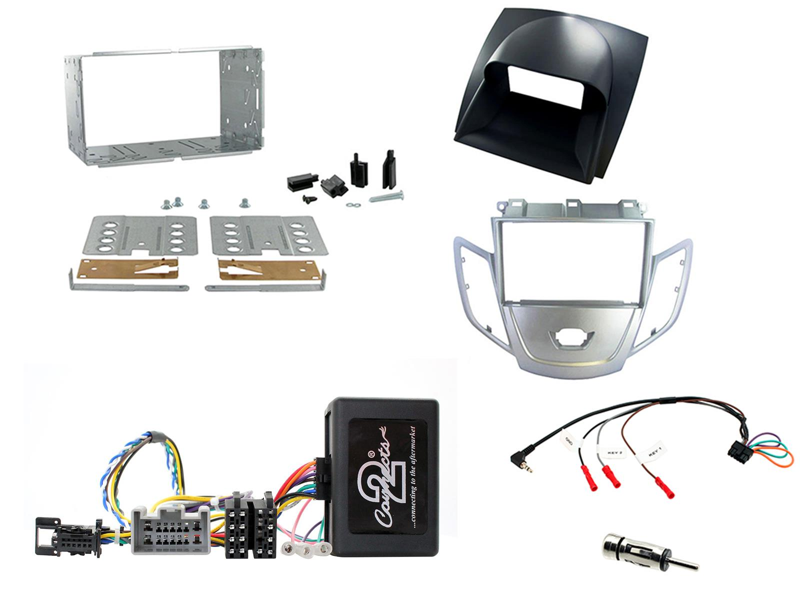 CTKFD01-ISO CD RADIO STEREO FASCIA FACIA FITTING KIT FOR FORD FOCUS MK1 MONDEO