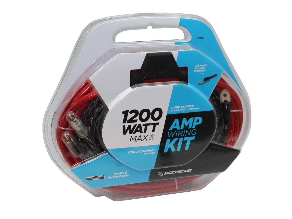 Connects2 Ltd New 4 Gauge Power Amplifier Amp Kit 1200 Watt Install Wiring Car Kpa6c Scosche 6 Awg